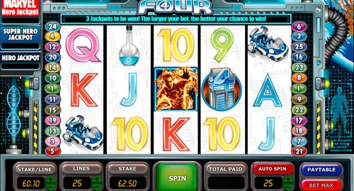 Fantastic Four Slot Machine Game to Play Free