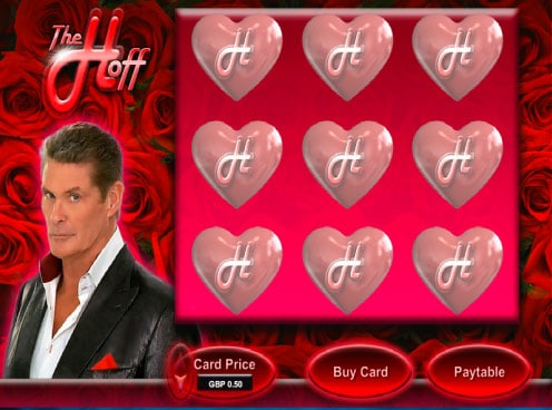 Hoff Scratch Card