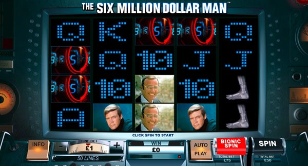 Play The Six Million Dollar Man Scratch Online at Casino.com Canada