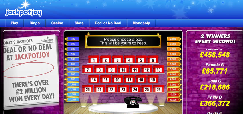dealornodeal game free online