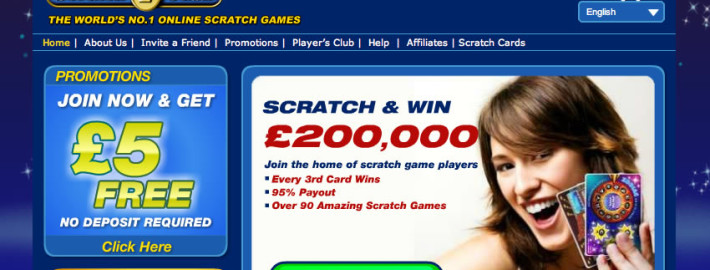 online scratch cards £5 free