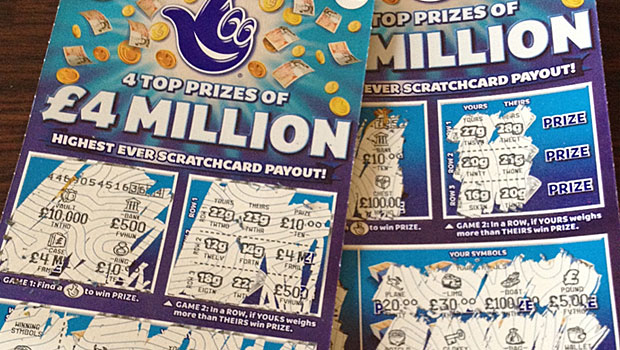 scratch card winner